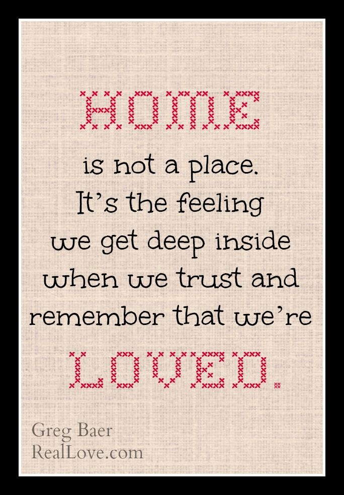Learn how to find and feel Real Love here: http://reallove.com/finding-real-love/