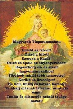 Magyarok Tízparancsolata.