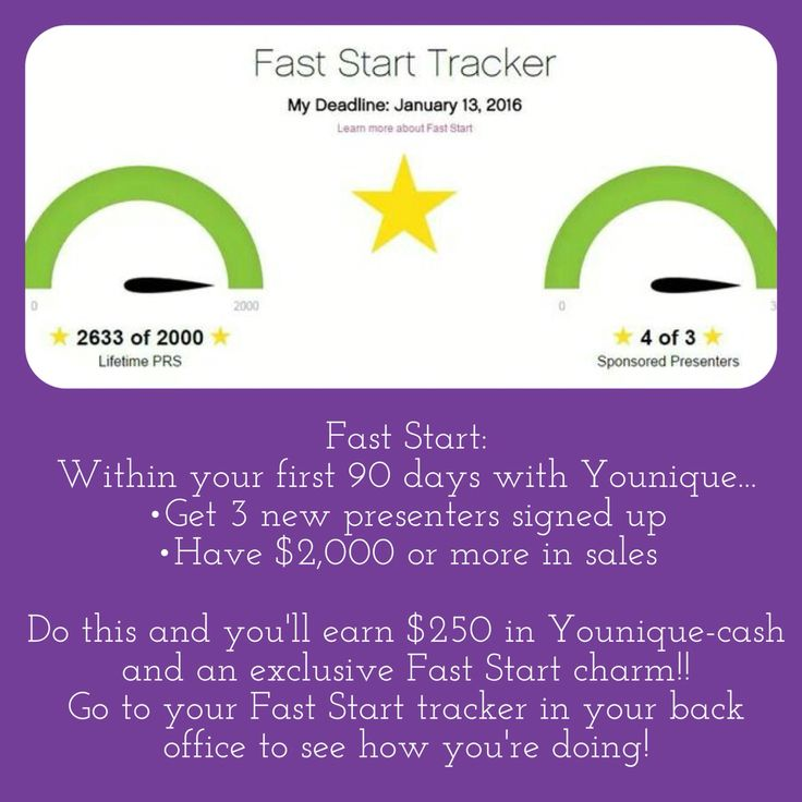 Younique Fast Start! www.laurellash.com