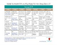 monthly declutter calendar for 2013 - 15 min daily tasks to help get your home organized!
