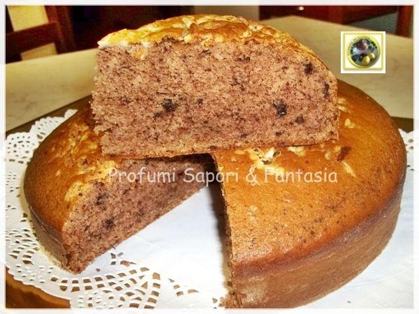 Torta di albumi ricetta con panna e cioccolato   Blog Profumi Sapori & Fantasia