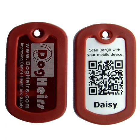 DogHeirs BarQR Tags