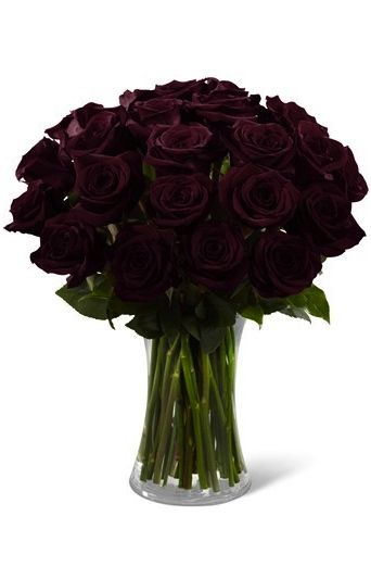 ✯*•.*☆° The Black Roses °☆*.•*✯ I want a black rose wedding bouquet