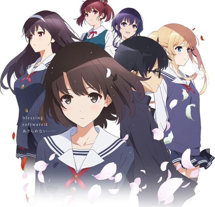 New visual for Saenai Heroine no Sodatekata Season 2. Anime starts April 14th.