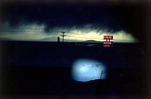 Ernst Haas- Painter With Light  Ernst Haas - Western Skies Motel, Colorado, 1978