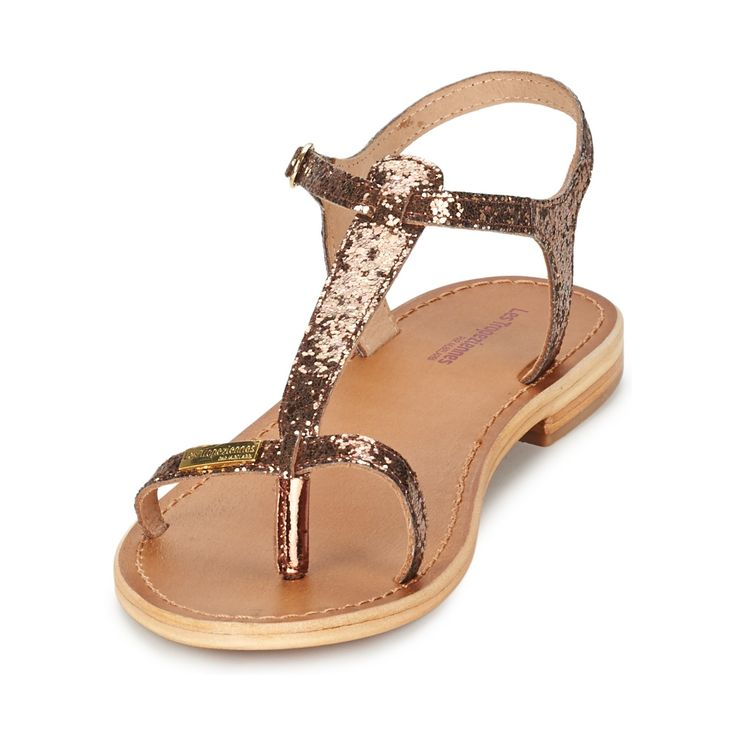 Sandale Les Tropéziennes par M Belarbi HORIZON BRONZE Glitter - Chaussure pas cher avec Shoes.fr ! - Chaussures Femme 59,00 €
