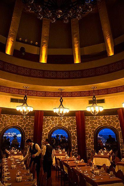 Galata Tower Restaurant, Istanbul, Turkey