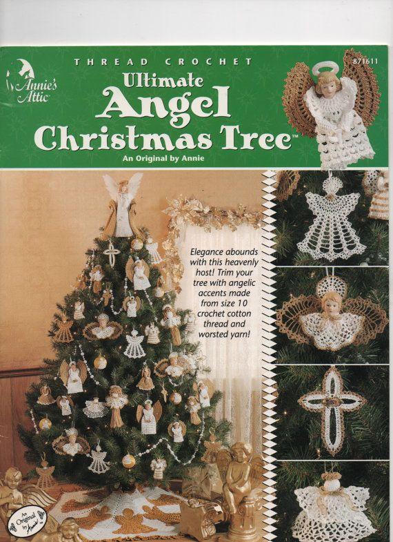 Ultimate Angel Christmas Tree Crochet Pattern Book Annies Attic ...