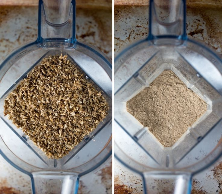 homemade spent grain flour | punctuated. with food