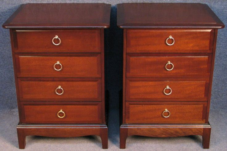 Best Pair Of Stag Minstrel Mahogany 4 Drawer Bedside Chests 400 x 300