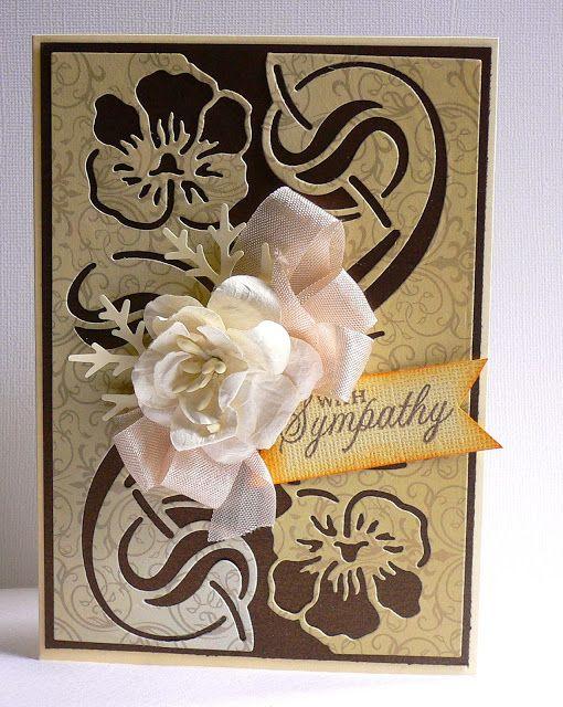 Artdeco Creations Brands: Sympathy Card Set by Adriana Bolzon