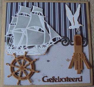 Gerrie Kaarten: Zeilschip 2