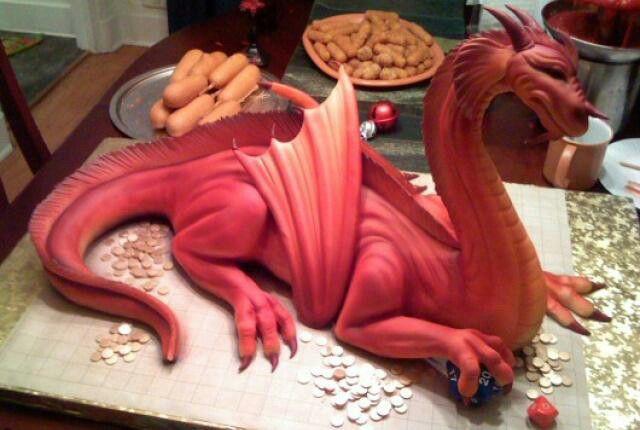 Real actual cake!