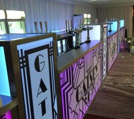 Are you planning an event indoors or outdoors and aren't sure how to ensure your guests are well looked offer? Bars2You now offer a Mobile Bars service that is second to none.