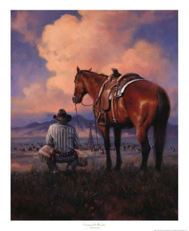Western Cowboy Art Prints | Cowboy and Western Posters, Art Prints, Framed Art, Old West art ...