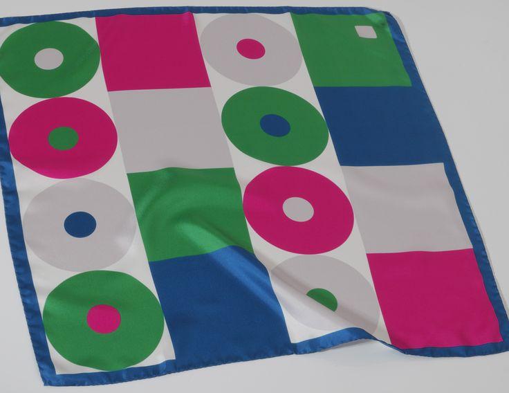 Disco Cubes Carré de soie