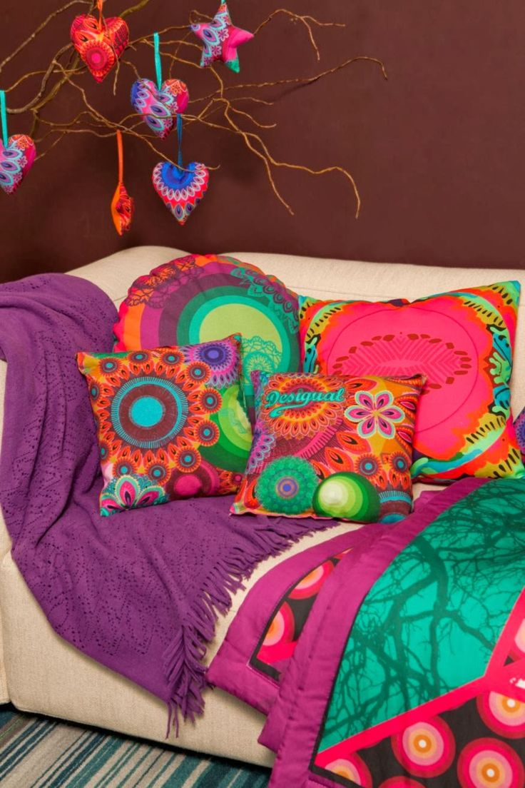 266 best cushions images on pinterest toss pillows cushions and decor pillows - Desigual home decor ...