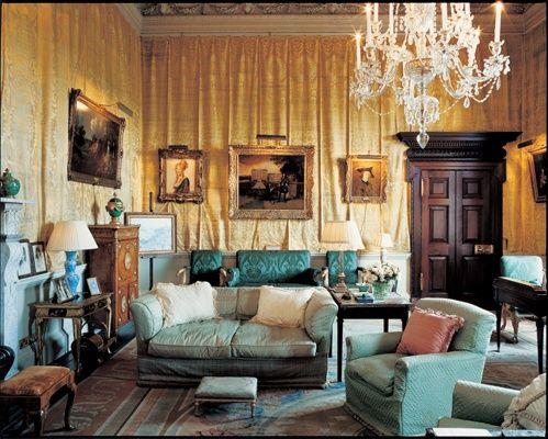 Houghton Hall Historical Interiors Pinterest