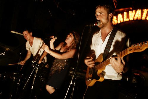 how did i not know that ryan gosling had a band? whoah. hello. their songs are all about ghosts and monsters. what a dreamboat.