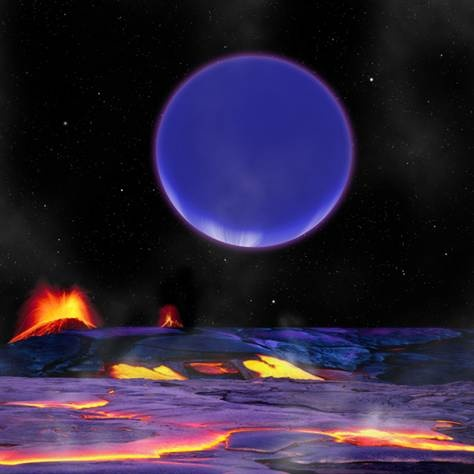 It is science fiction made fact: Astronomers have discovered two alien planets around the same star whose orbits come so close together that each rises in the night sky of its sister world like an exotic full moon.  The newfound planets are 1,200 light-years from Earth, researchers said. They differ greatly in size and composition, but come within just 1.2 million miles (1.9 million kilometers) of each other, closer than any other pair of planets known, according to a new study.: Solar System, Artists, Kepler36C, Univ Of Washington, Miles Apartment, Odd Couple, Solar Flare, Night Sky, Kepler 36C