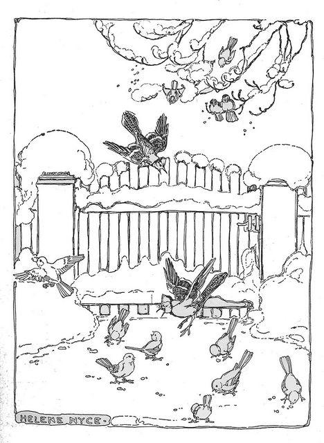 Sing Little Bird On The Garden Gate By Katinthecupboard Via Flickr