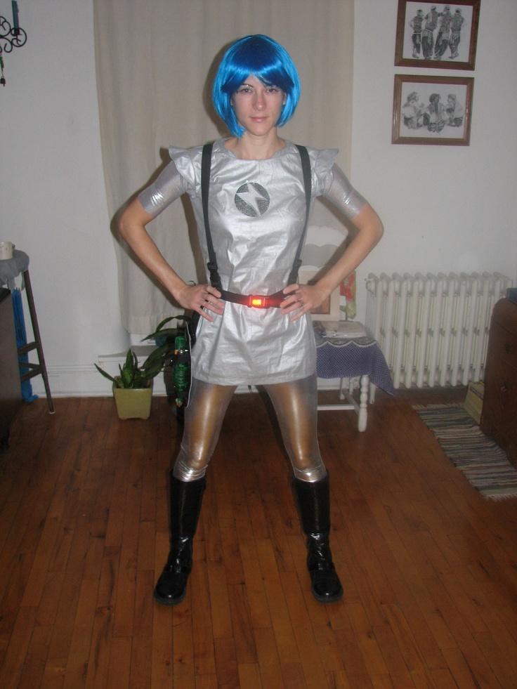 space girl costume production costumes pinterest. Black Bedroom Furniture Sets. Home Design Ideas