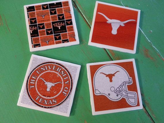 Check out this item in my Etsy shop https://www.etsy.com/listing/240054843/texas-longhorns-inspired-ceramic