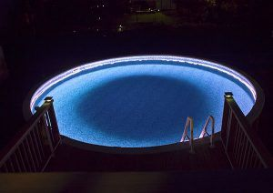 How to install above ground led pool lights lighting - How to install a swimming pool light ...