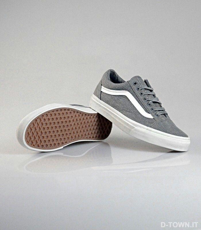 Vans old skool – PEWTER   – Shoes