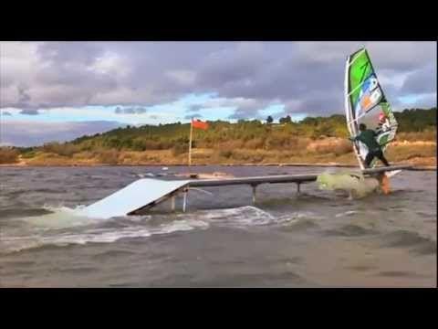 Windsurf Park : innovation freestyle à Leucate avec Julien Taboulet - YouTube