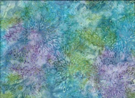 BA - F1 Col Aqua Mauve Flower #aqua #green #mauve