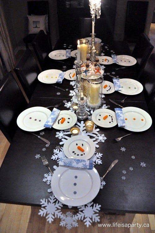 Joias do Lar: {Pro Natal} - Decoração da mesa