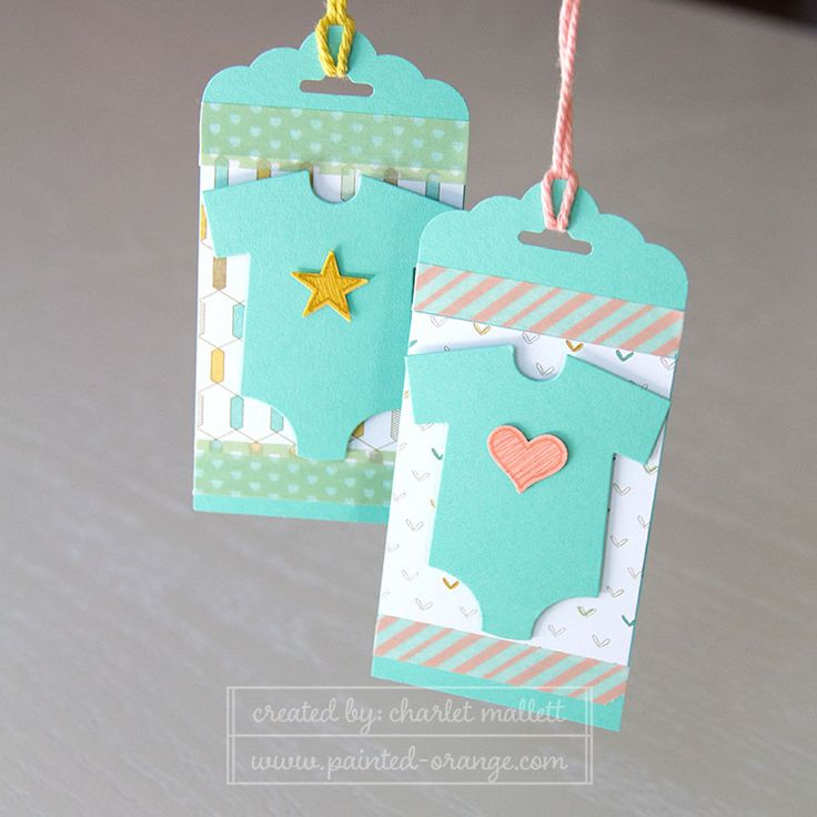 Sue - Something for Baby matching gift tags. Love the heart and star embellishments.