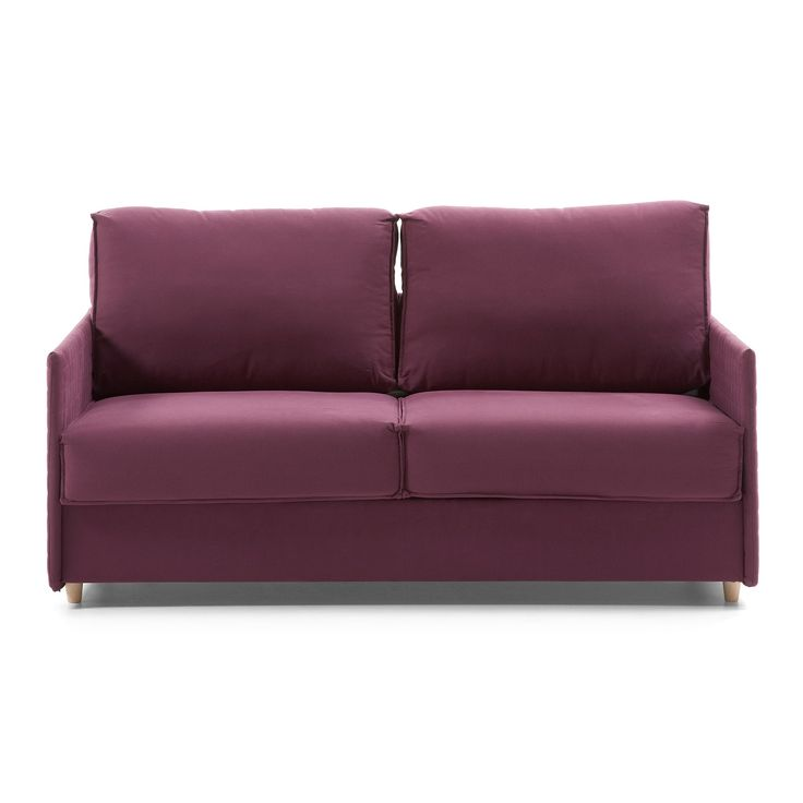 1000 id es propos de canap violet sur pinterest velours pourpre salon - Canape convertible violet ...