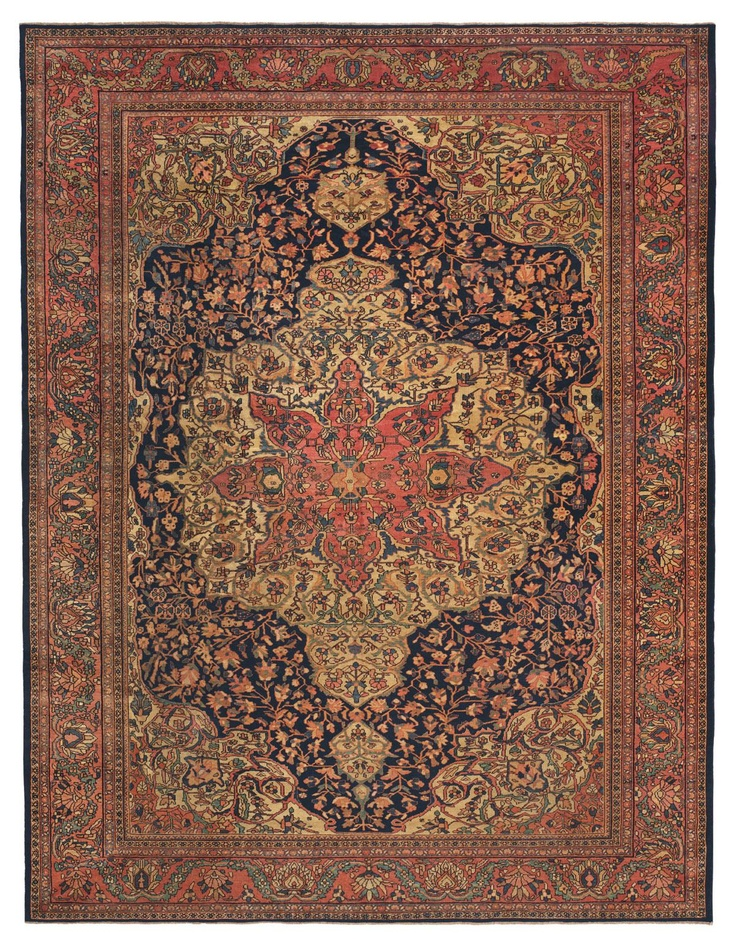Attractive The History And Art Of Collectable Antique Ferahan And Ferahan Sarouk Rugs,  Antique Persian Carpets From The Claremont Rug Company.