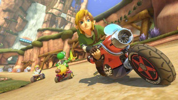 Mario Kart 8 : Yoshi Circuit (DLC Zelda) en trailer