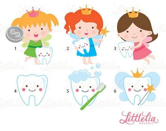 Tooth fairy teeth clipart 15060 by LittleLiaGraphic on Etsy                                                                                                                                                     Mais