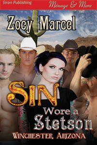 Sin Wore a Stetson (Winchester, Arizona 1) - MFMMM Menage/ Cowboys/Werewolves