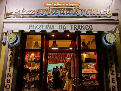 best pizza ever -   Pizzeria Da Franco, Sorrento.