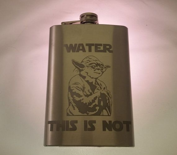Star Wars Yoda Inspired Water this is not by SilverblattDesign