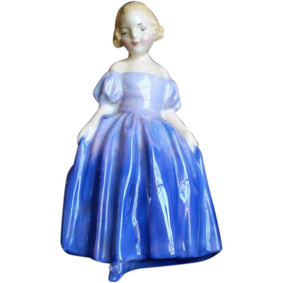 Demure and dainty this Royal Doulton Marie Figurine is awwwww-some. It can be found at Yesterdays on Ruby Lane.