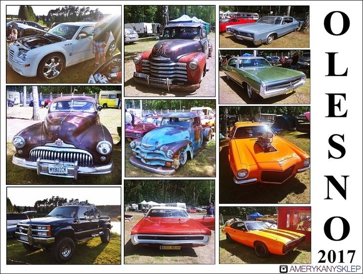 A meeting for automotive fans Olesno Poland 2017