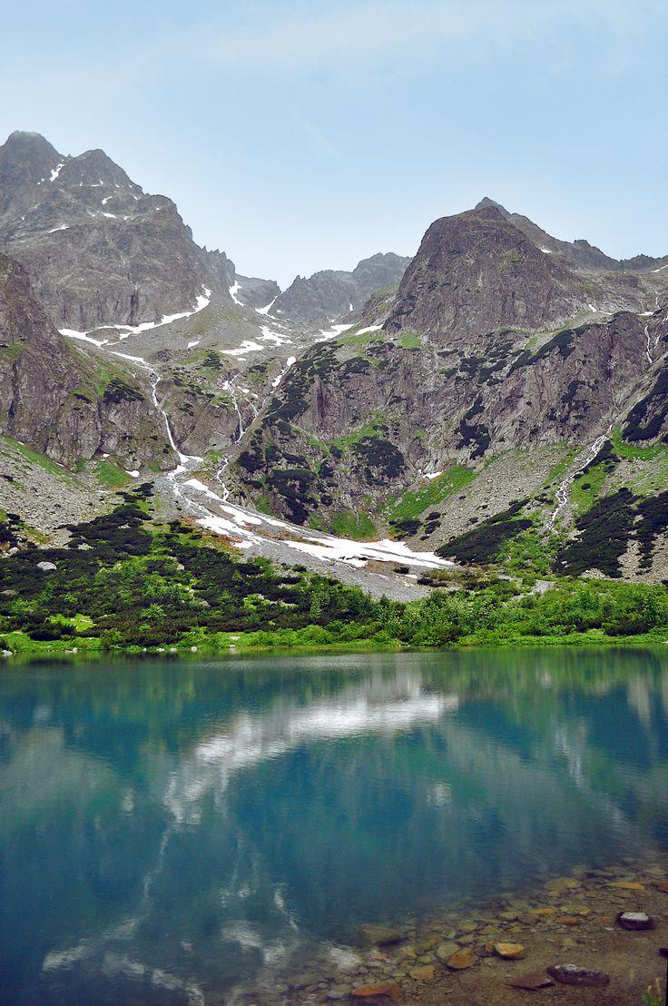 Tatranská Lomnica, Tatra mountain, High Tatras, Zelené pleso Kežmarské, SLOVAKIA