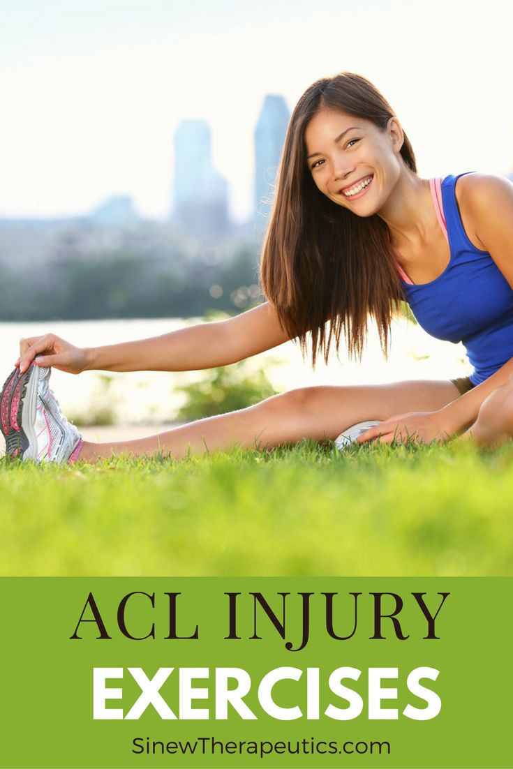 Stretching exercises to help knee flexibility and strength. Learn more about an ACL Injury at SinewTherapeutics.com