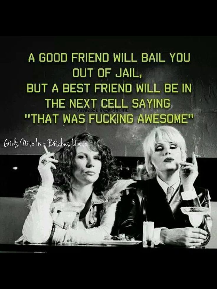 Patsy and Edina - Absolutely Fabulous