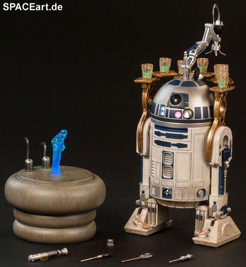 Star Wars: R2-D2, Voll bewegliche Deluxe-Figur ... http://spaceart.de/produkte/sw042.php