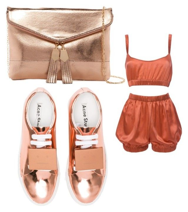 """""""Untitled #207"""" by adrianna-nicole-smith on Polyvore featuring Roses Are Red, Acne Studios and Urban Expressions"""