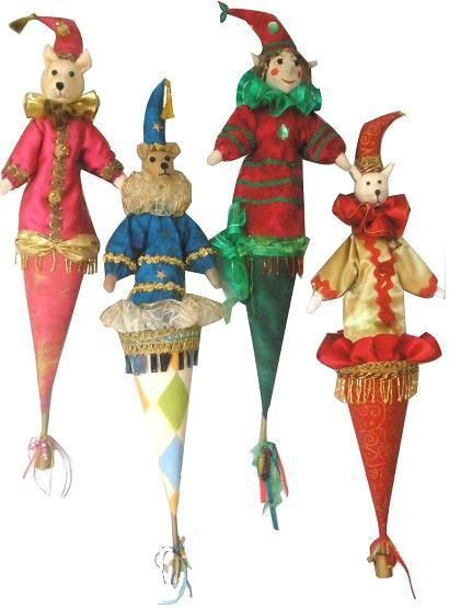Looking for your next project? You're going to love POPPINS, Cone Puppets by designer MichelleMunzone.