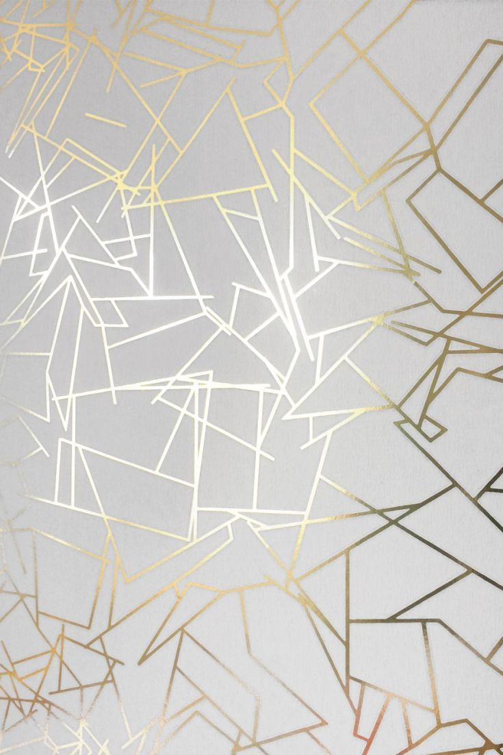 Karim rashid designer wallpaper retro 52016 black gold - Following On From The Success Of The Copper Capsule Collection The New Erica Wakerly Wallpaper