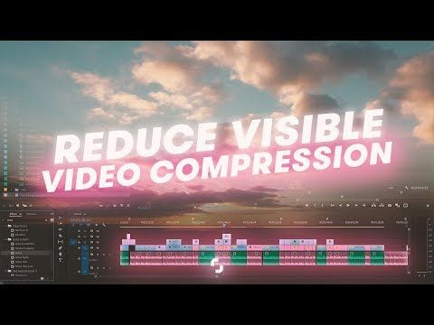 Here are six different ways to reduce visible compression on